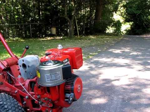 Troy Bilt Horse Briggs Stratton 7hp Engine Demonstration