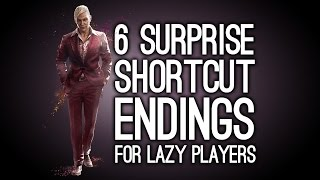 6 surprise shortcut endings for lazy players