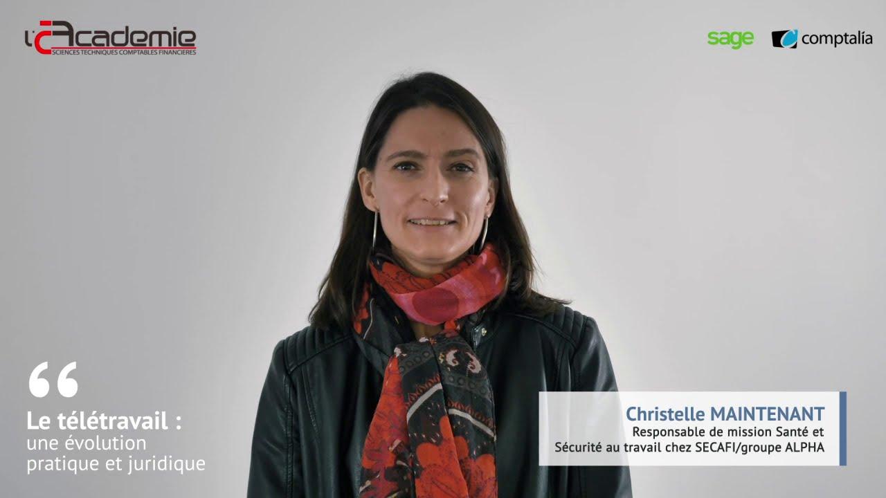 Les Entretiens de l'Académie : Christelle Maintenant et Antoine Rémond