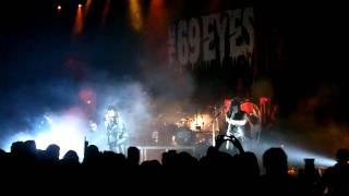 The 69 EYES - Dead Girls Are Easy CIRKUS STOCKHOLM APRIL 16 2011
