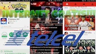 INTERNET GRATIS!!! | TELCEL | QPYTHON | YOUTUBE GRATIS | SIN SALDO Y MAS