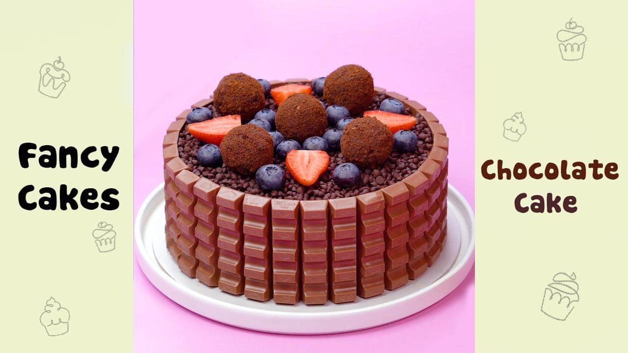 Delicious Chocolate Cake Decorating Ideas #shorts