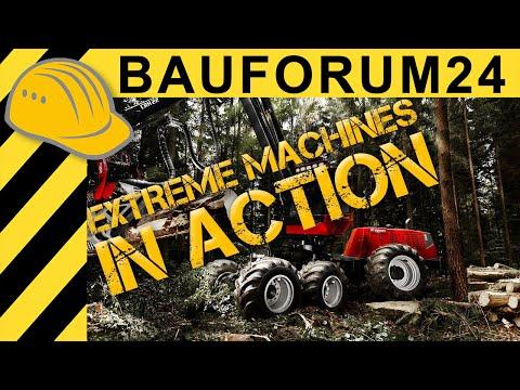 Extreme Machines: Valmet Harvester 931 Forest Action & Inside View - Komatsu Harvester