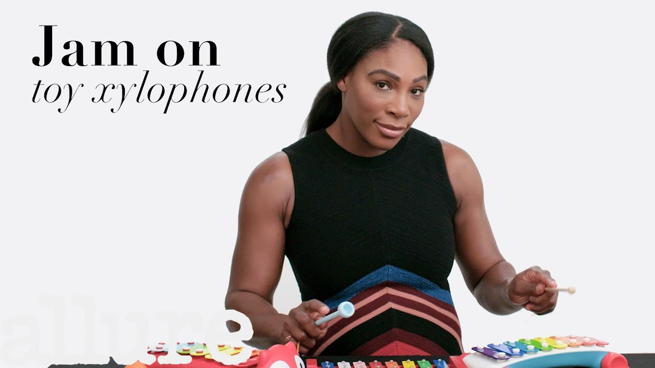 Serena Williams Tries Nine Things She's Never Done Before | Allure