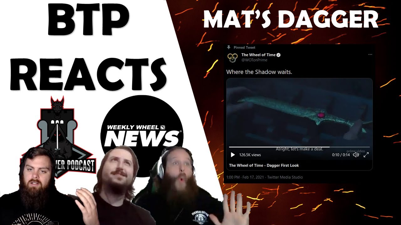 BTP Reacts!! - Mat's Dagger Announcement w/ Weekly Wheel News