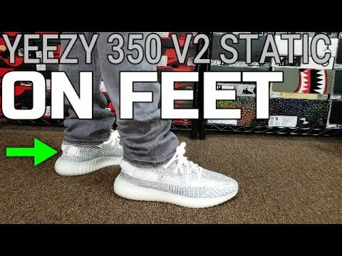 8dcfde76af8 ADIDAS YEEZY BOOST 350 V2 STATIC REVIEW   ON FEET - YouTube