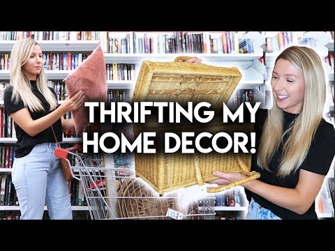 HOME DECOR THRIFT WITH ME + HAUL
