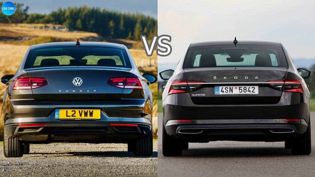 2020 VW Passat vs 2020 Skoda Superb
