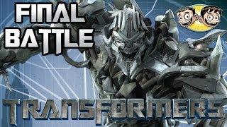 Transformers: The Game - Decepticon Campaign - FINAL BATTLE - Megatron Vs. Optimus Prime - BroBrahs