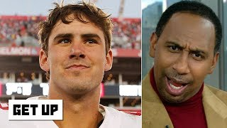 Stephen A. crashes the set, chooses Daniel Jones over Kirk Cousins | Get Up