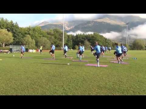 Pre season trainings ......Core session for soccer