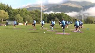 Pre Season Trainings Core Session For Soccer