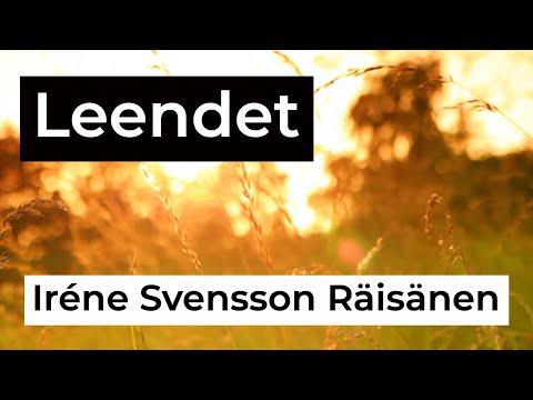 LEENDET diktvideo av författaren Iréne Svensson Räisänen