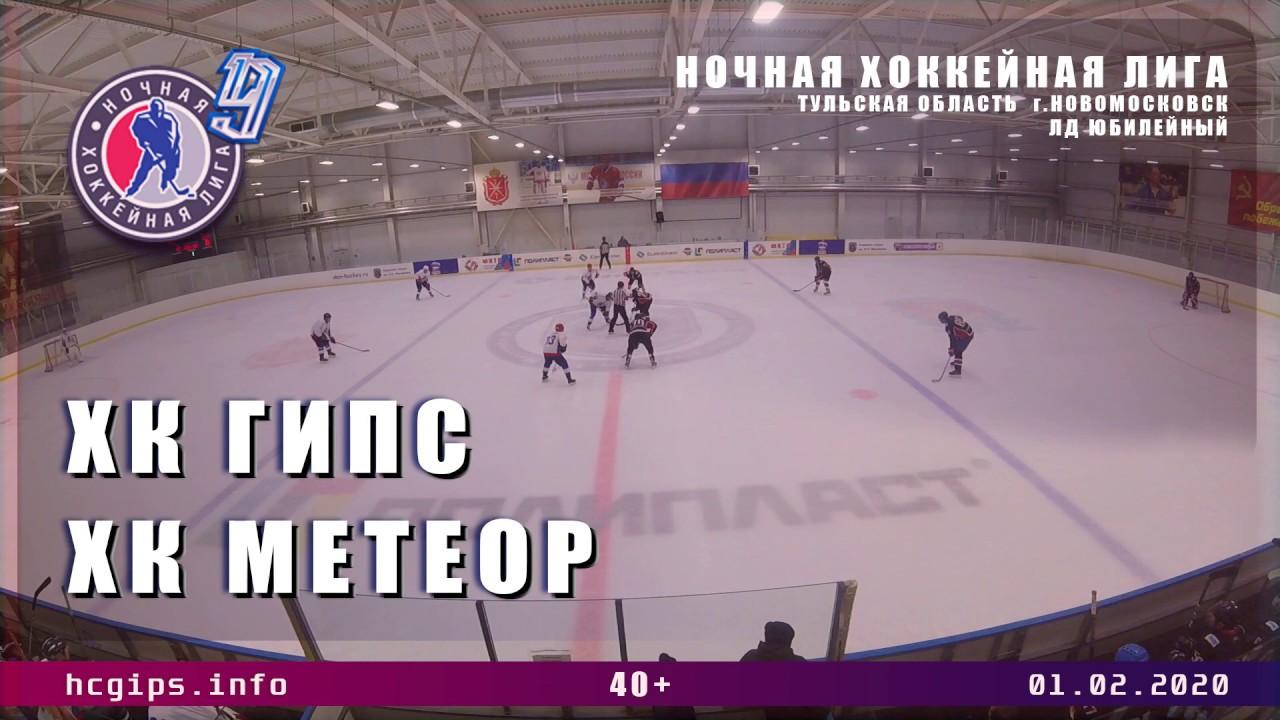 хк Гипс Новомосковск   хк Метеор Тула