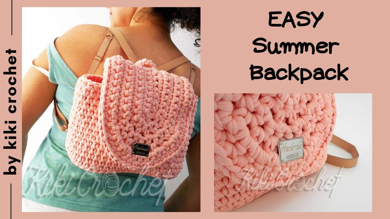 How to Crochet a Summer Backpack