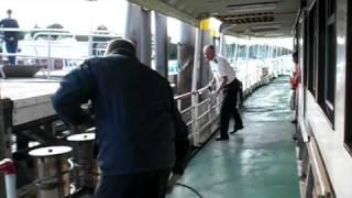 BSB Schiff legt an in Dingelsdorf/Bodensee - Arrival: shipping pier Dingelsdorf/Lake Constance