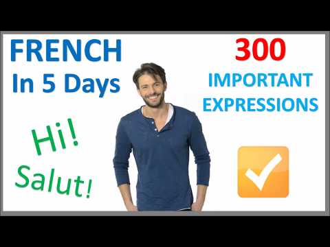 Learn French in 5 Days - Conversation for Beginners