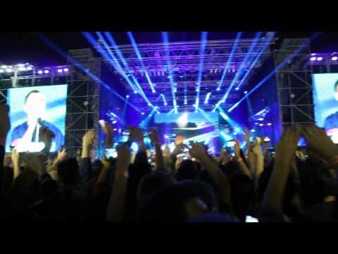 Ляпис Трубецкой Киев 2014 - Я верю, Live, стадион в огоньках