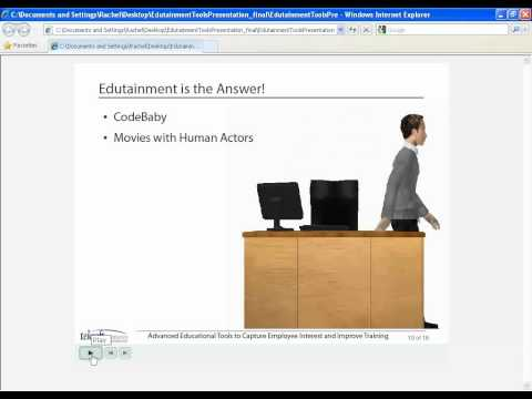 eLearning Webinar - Advanced and Entertaining Tools to Capture Employee Interest & Improve Training