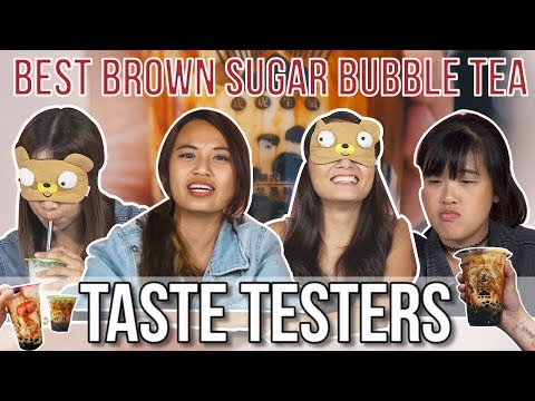 BEST BROWN SUGAR MILK TEA | Taste Testers | EP 79
