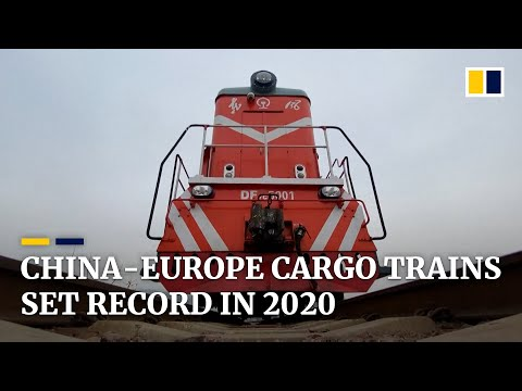 China's freight trains to Europe hit all-time high amid coronavirus crisis in 2020