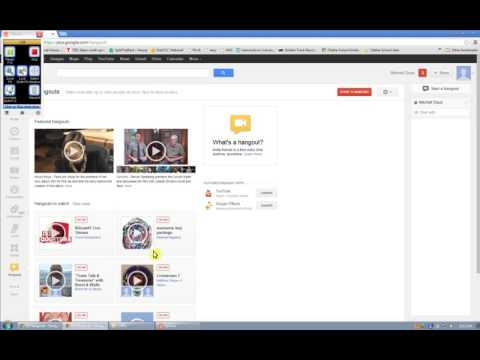 How to get Google Hangout to work