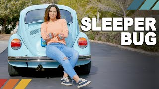SLEEPER BUG: 517 WHP Subaru-Powered 1973 VW Super Beetle | Nicole Johnson's Detour EP1