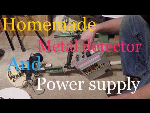 Homemade Metal Detector Garrett Gold Hunter