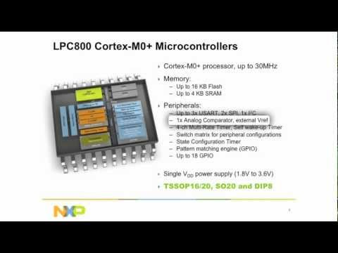 LPC800 Microcontroller: Overview by NXP