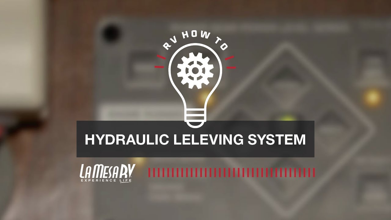 Hydraulic Leveling Jacks In Your Rv Rv How To La Mesa Rv