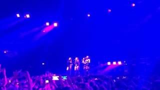 Little mix - Wings Intro Acapella glory days tour Milano 2017