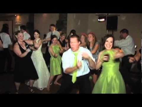 Best Reception Dance Ever Fun Wedding Video Youtube