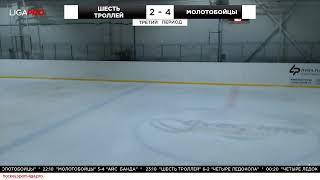 Шорт хоккей. Ночной турнир. Лига Про. 4 июня 2019 г