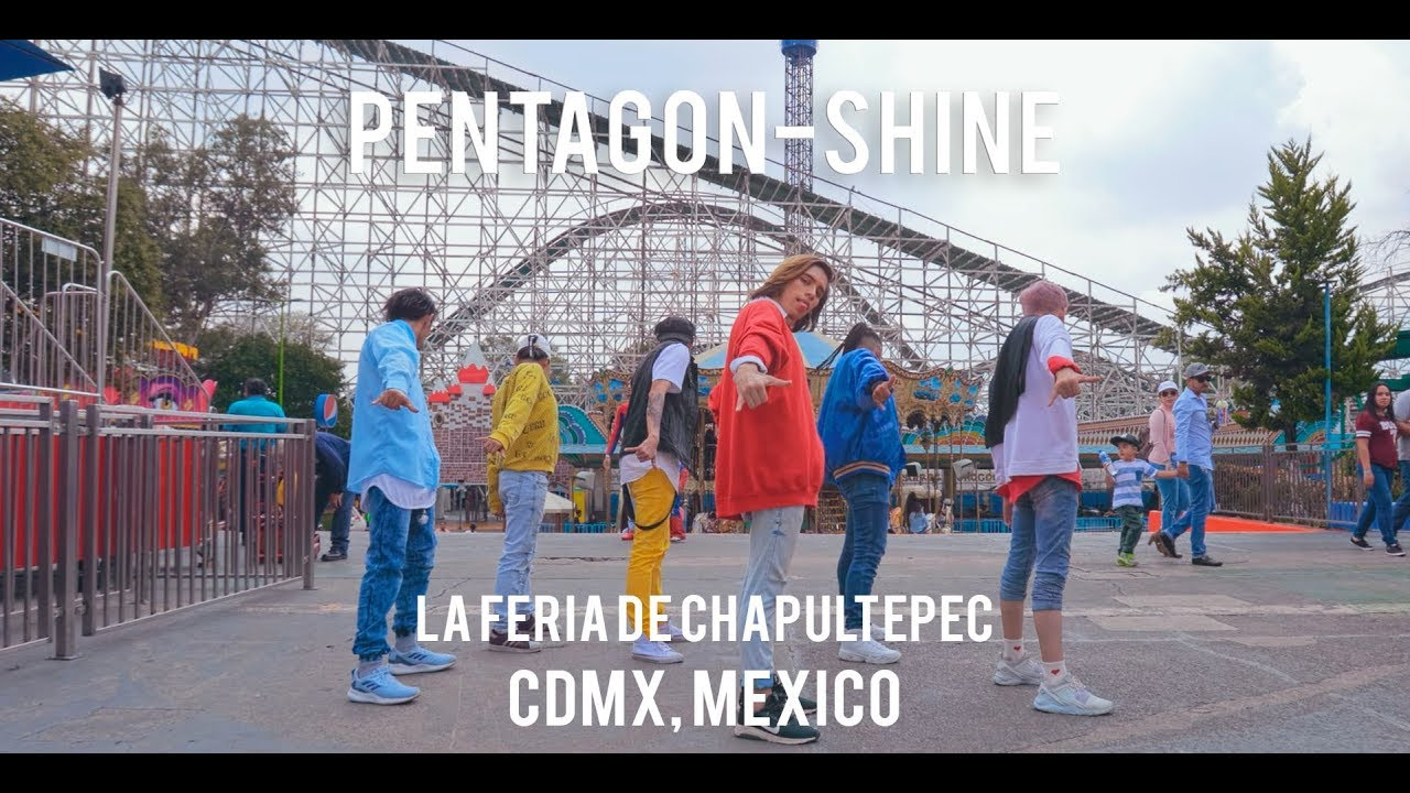 Kpop in public challenge pentagon 펜타곤 shine dance cover from mexico