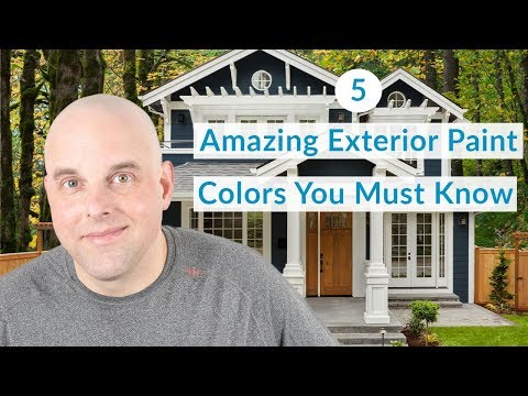 5 Amazing Exterior House Painting Color Ideas You Must Know