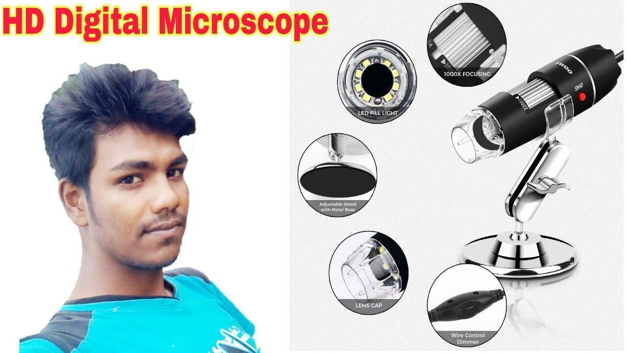 HD mini microscope ইজি মোবাইলের পার্স নির্ণয় করা সক্ষম
