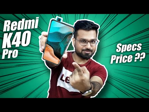 Redmi K40 Pro - Specifications, Price, and Launch Date in India   [ Redmi K40 Pro ]
