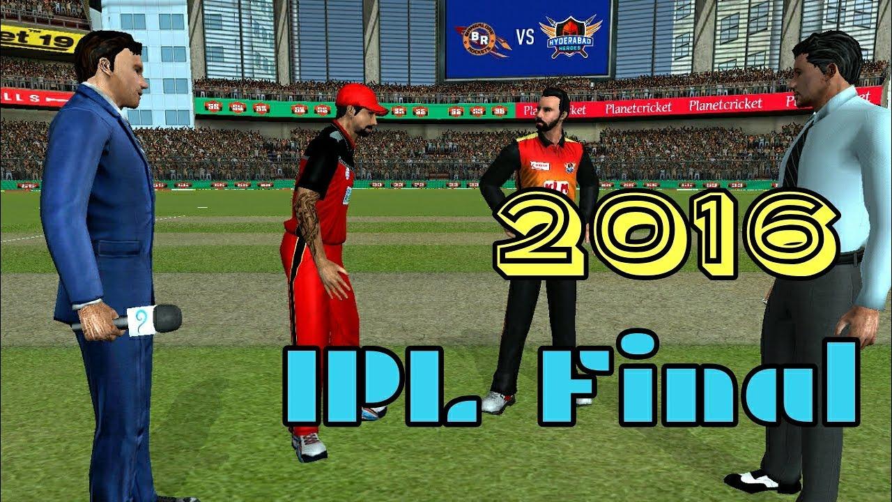 8 IPL Final 2016 RCB vs SRH Royal Challengers Bangalore vs