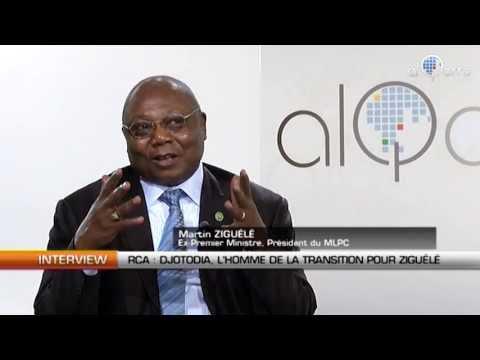 RCA: Djotodia, l'homme de la transition pour M. Ziguele