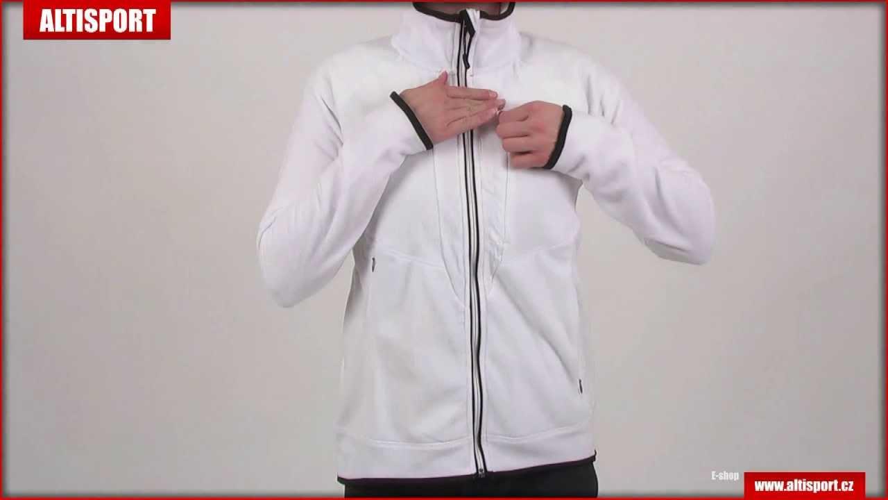 88cd4c0d23d Fleece mikiny dámské NORDBLANC NBWFL3542 BÍLÁ - YouTube