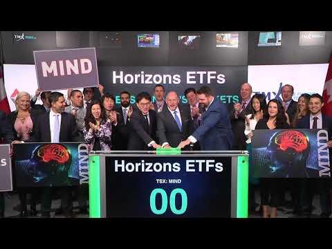 Horizons ETFs opens Toronto Stock Exchange, November 17, 2017