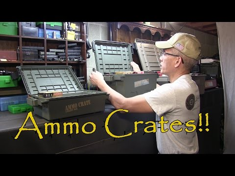 MTM Molded Products Ammo Crates and Case Guard Ammunition Boxes