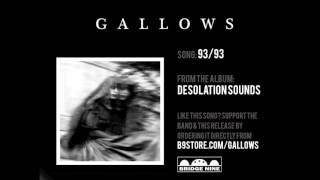 "Gallows - ""93/93"" (Official Audio)"