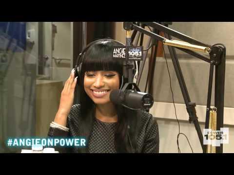 Nicki Minaj on The Angie Martinez Show PT2 Aired 12-17-15