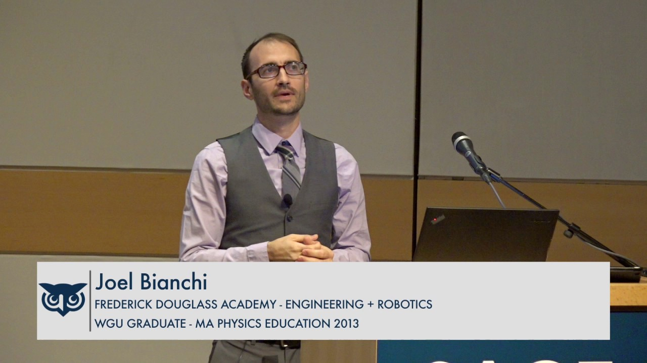 My Experience as a WGU Teachers College Student | Joel Bianchi | WGU Sage  Talks