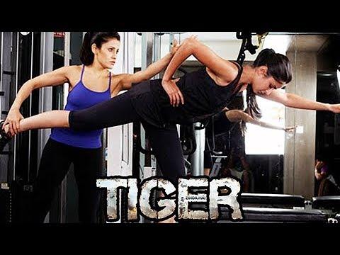 Katrina Kaif Hot Workout For TIger Zinda...