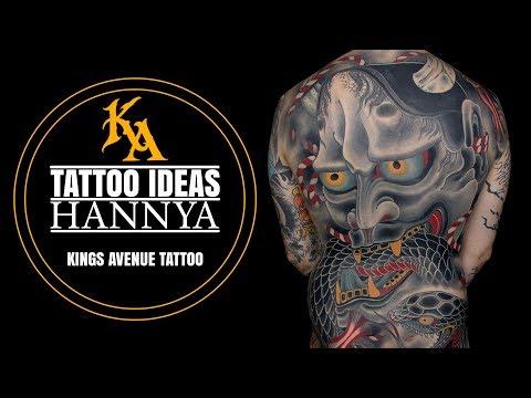 Tattoo Ideas: Hannya Tattoos