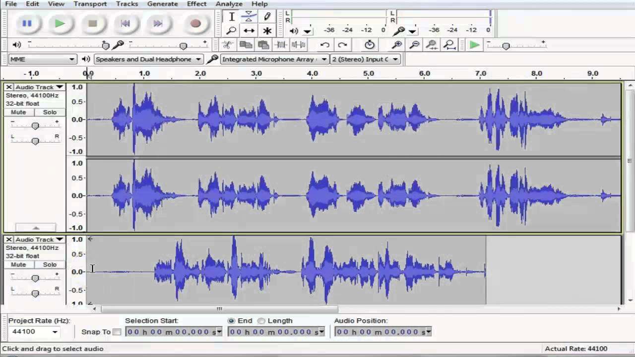 voice recording program: