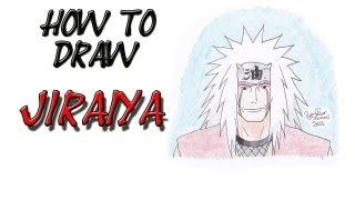 How to draw Jiraiya by Zaromaru