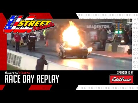 Race Day Replay – U.S. Street Nationals 2017 – Kye Kellys Crazy Nitrous Backfire